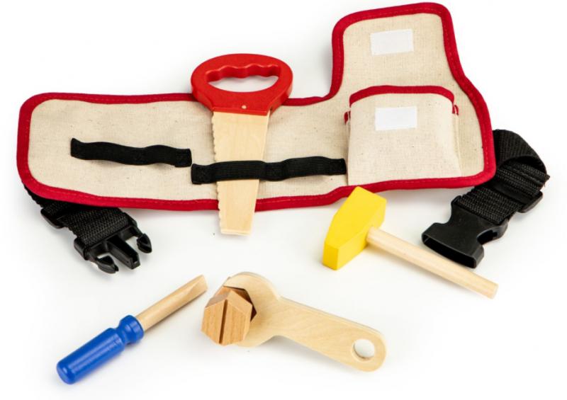 ECO TOYS - Drevené náradie pre deti s opaskom