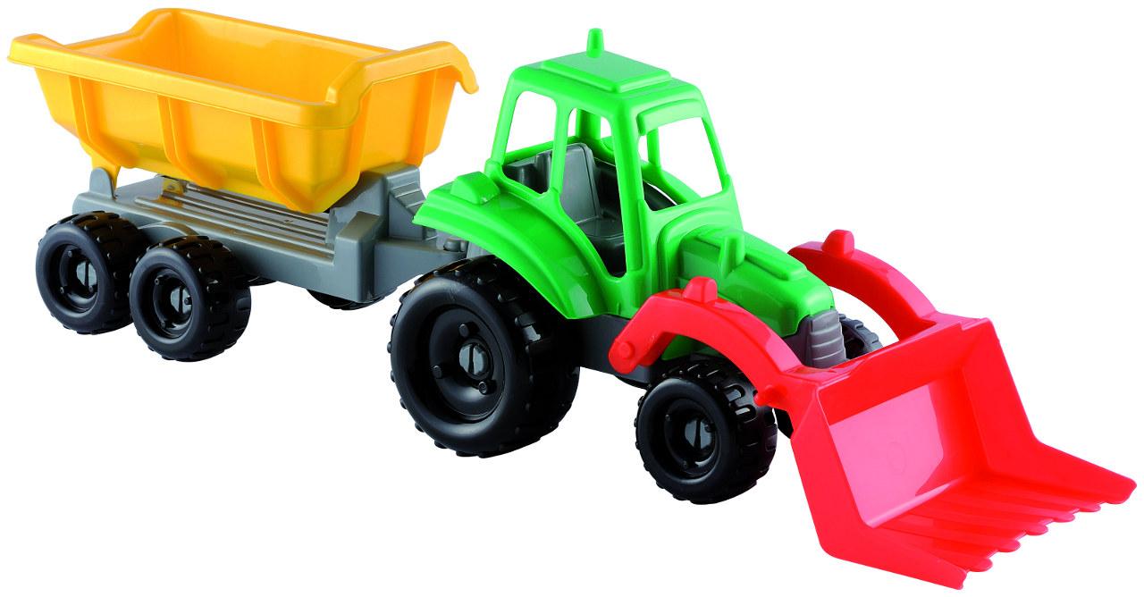 ECOIFFIER - Traktorček S Vlečkou 25 Cm