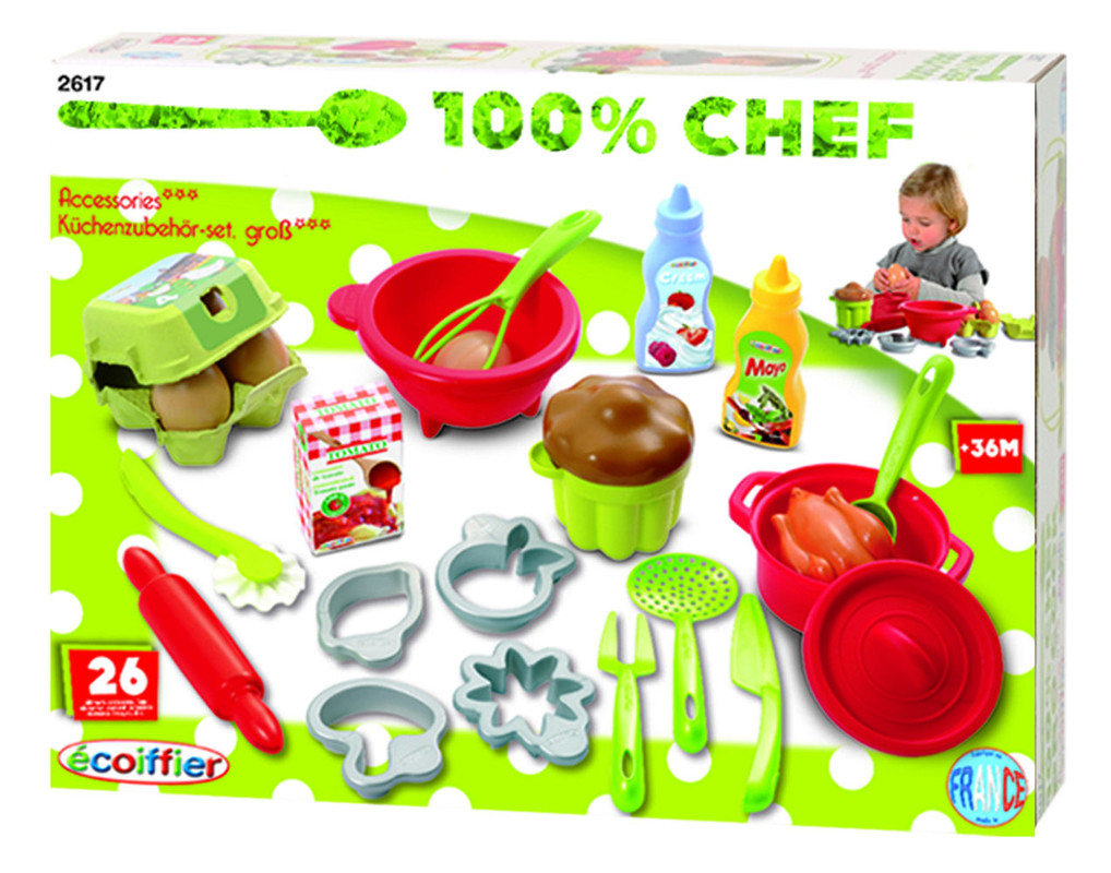 ECOIFFIER - Veľká sada kuchynského príslušenstva