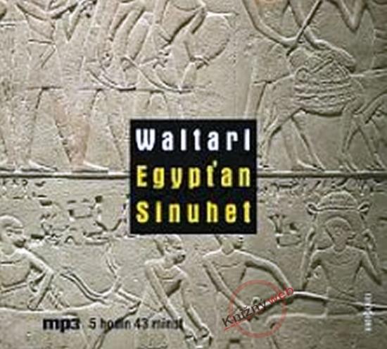 Egypťan Sinuhet - CD mp3 - Mika Waltari