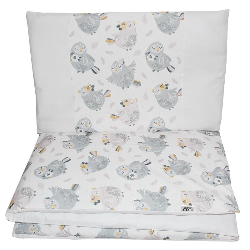 EKO - Bielizeň posteľná 2-dielna Chicks 90x120 cm + 40x60 cm