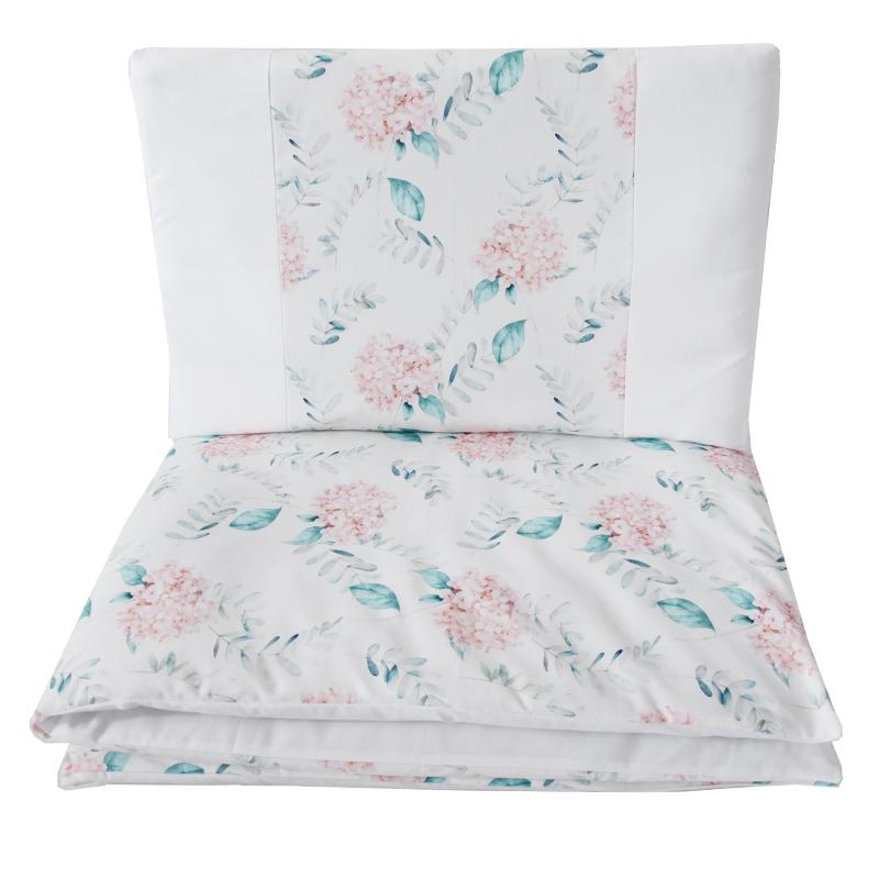 EKO - Bielizeň posteľná 2-dielna Hydrangea 90x120 cm + 40x60 cm