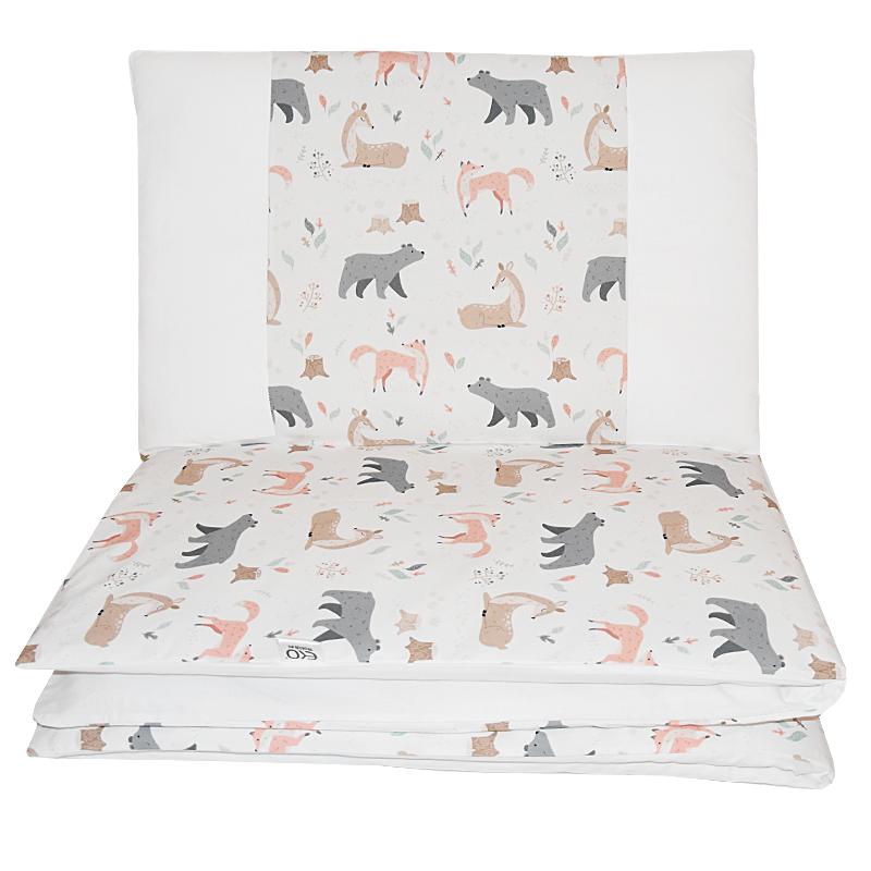 EKO - Bielizeň posteľná 2-dielna Roe-Deer 90x120 cm + 40x60 cm