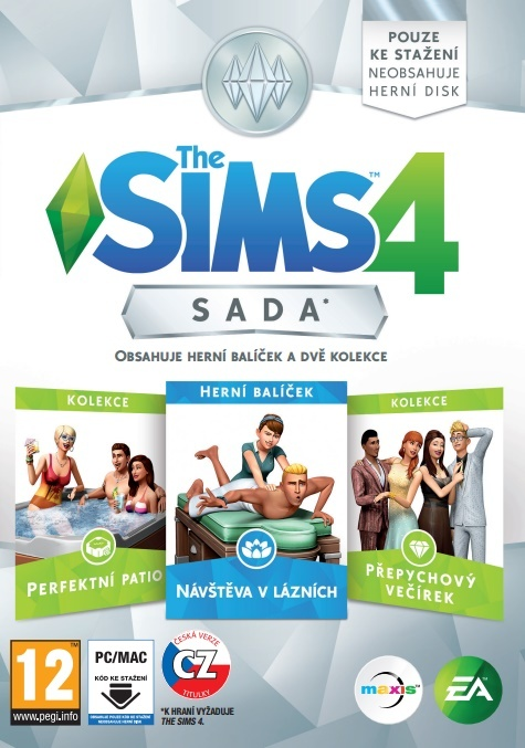 ELECTRONIC ARTS - PC The Sims 4 Bundle Pack 1
