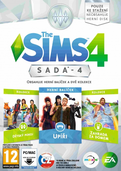 ELECTRONIC ARTS - PC The Sims 4 Bundle Pack 4