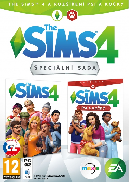 ELECTRONIC ARTS - PC The Sims 4 - Bundle Základná hra + Psy a Mačky
