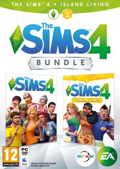 ELECTRONIC ARTS - PC The Sims 4 Bundle Základná hra + Život na ostrove