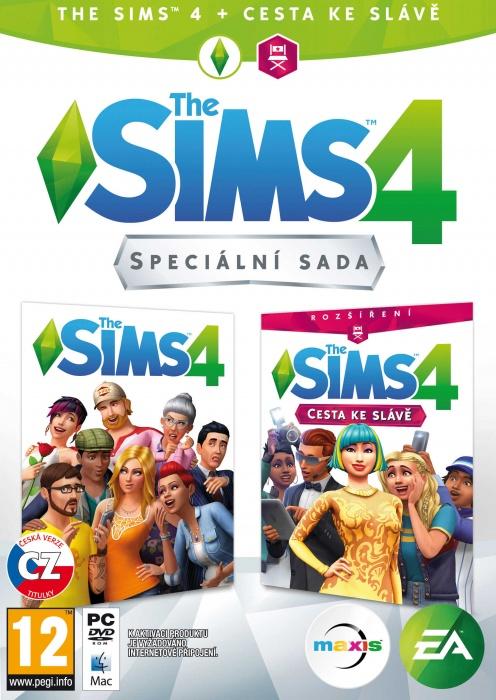 ELECTRONIC ARTS - PC The Sims 4 Bundle Základné hra + Cesta ku sláve