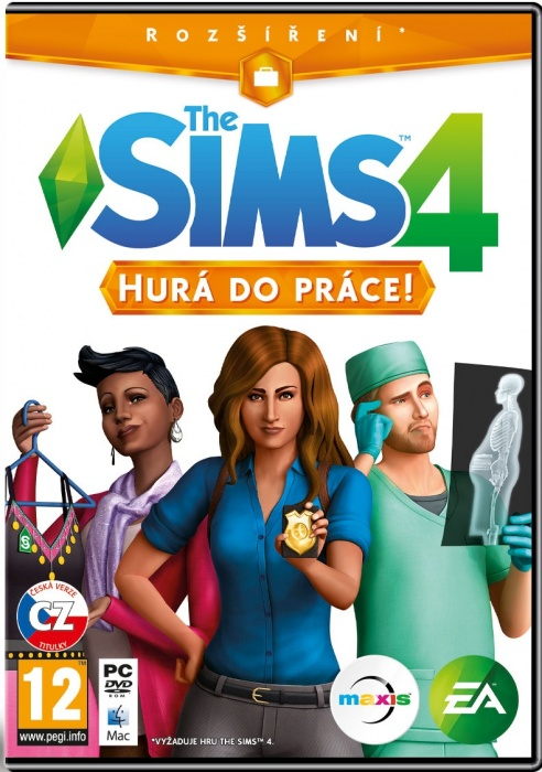 ELECTRONIC ARTS - PC The Sims 4 - Hurá do práce