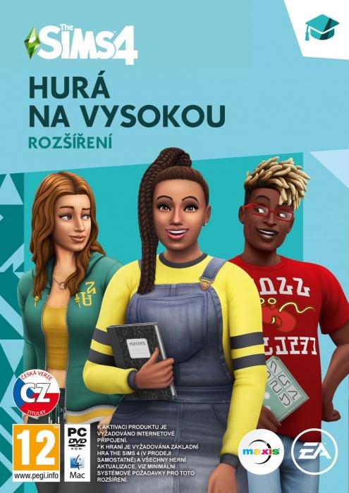 ELECTRONIC ARTS - PC The Sims 4 Hurá na vysokú, Balíček základné hry The Sims 4 a DLC Hurá na vysokú