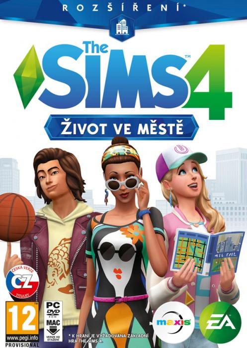 ELECTRONIC ARTS - PC The Sims 4 - Život v meste