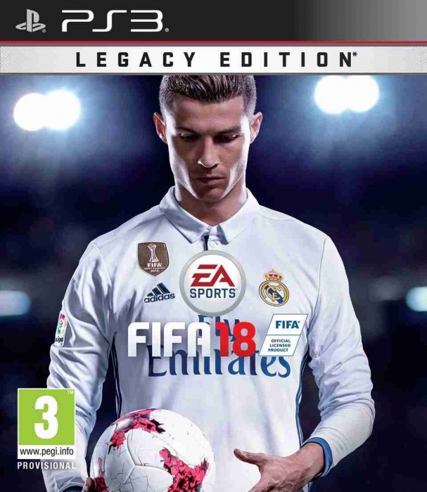 ELECTRONIC ARTS - PS3 FIFA 18 (Legacy Edition)
