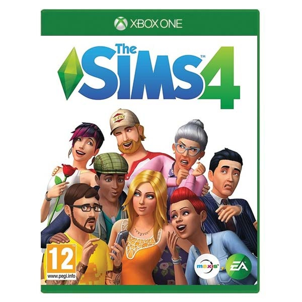 ELECTRONIC ARTS - XONE The Sims 4, The Sims hra pre konzolu Xbox One