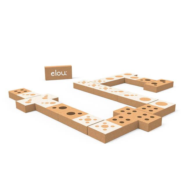 ELOU - Korkové domino Čísla