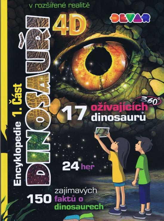 Encyklopedie Dinosauři 4D