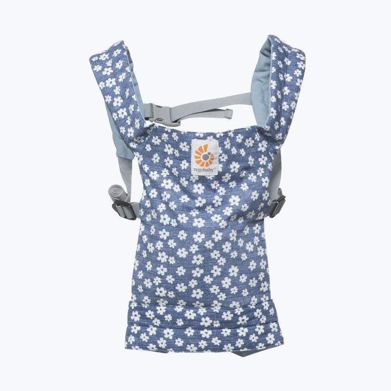 ERGOBABY - Nosič pre bábiky - BLUE DAISIES