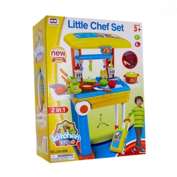 EURO BABY - Detská kuchynka v pojazdnom kufríku