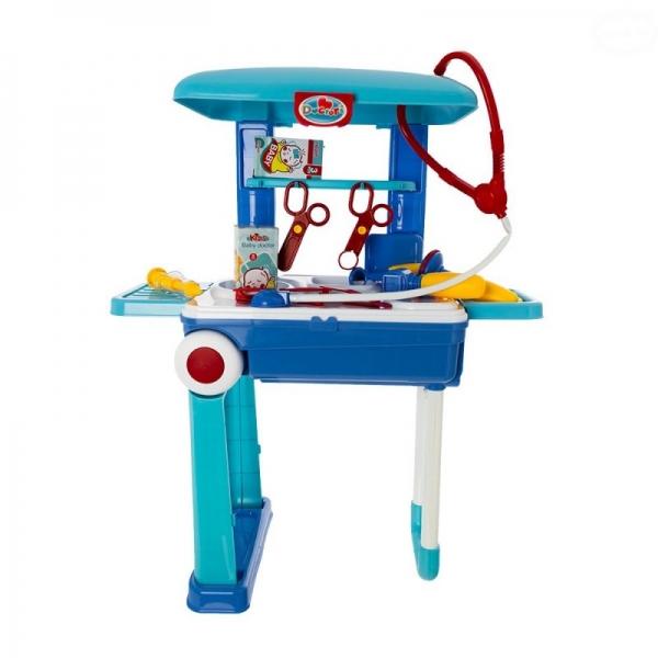 EURO BABY - Detský lekársky set v pojazdnom kufríku