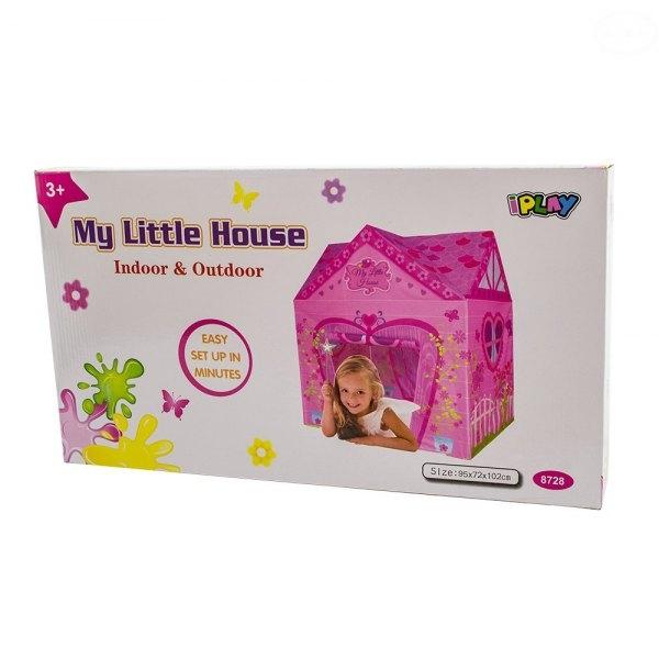 EURO BABY - Detský stan - domček pre dievčatka