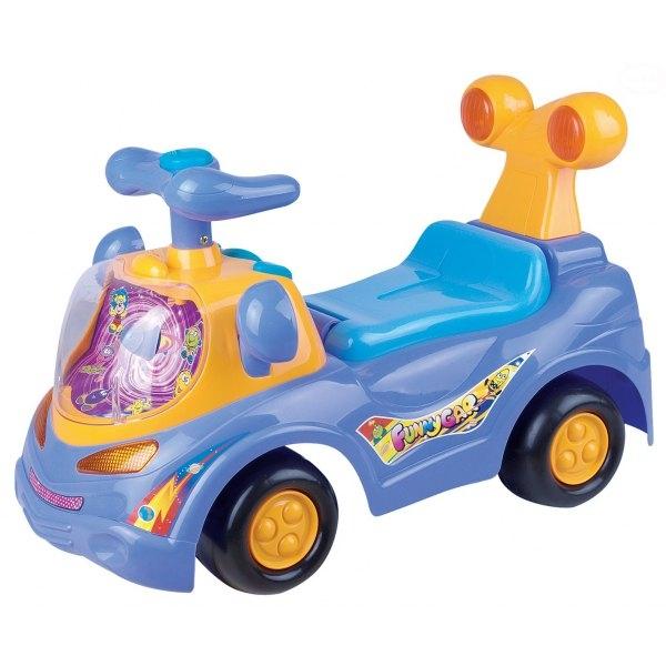 EURO BABY - Odrážadlo, jezdítko - FUNNY CAR - fialové