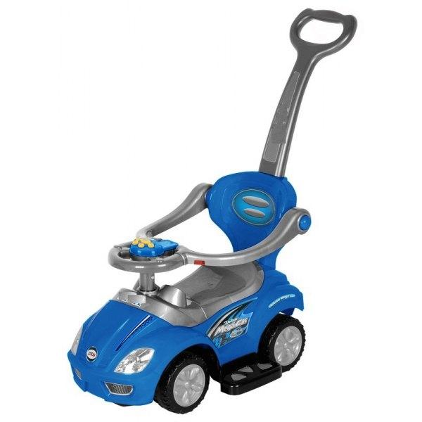 EURO BABY - Odrážadlo, odrážadlo 3v1 AUTO - modré