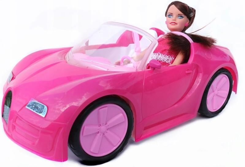 EURO-TRADE - Auto plastové s bábikou