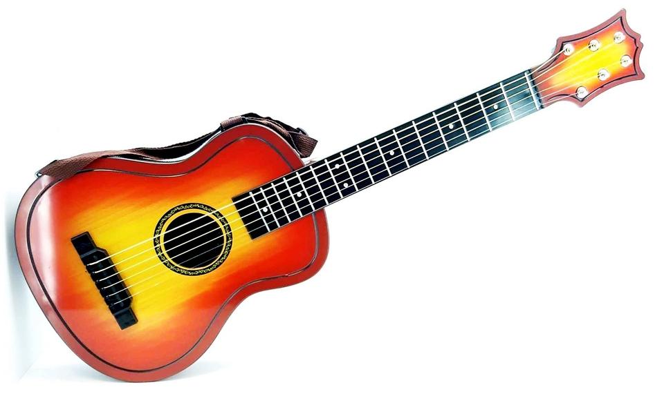 EURO-TRADE - Detská gitara s púzdrom 30x80x7cm