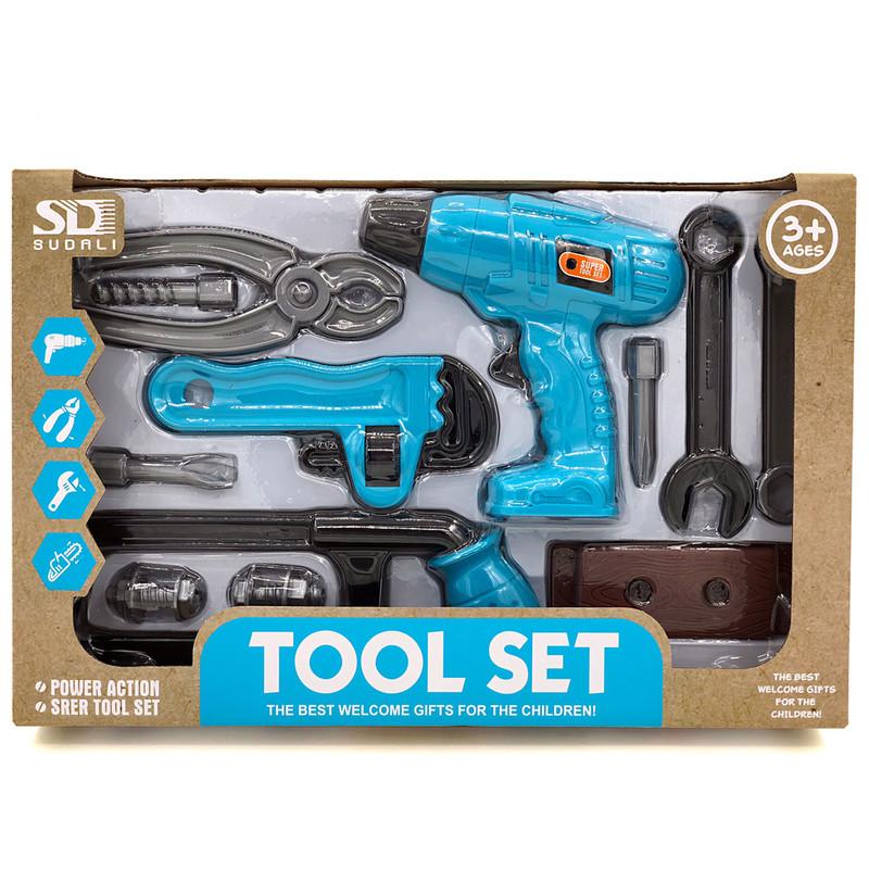 EURO-TRADE - Detské náradie Tool Set 12ks