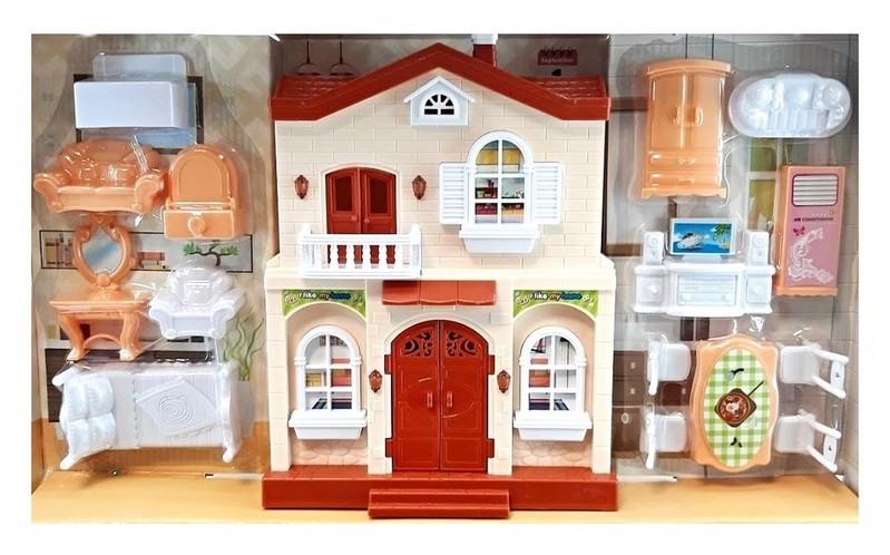 EURO-TRADE - Domček pre bábiky 50x24cm