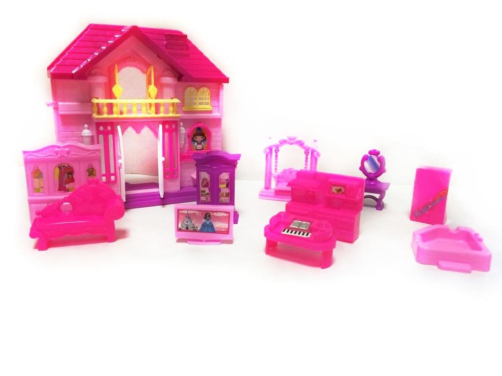 EURO-TRADE - Domček pre bábiky s doplnkami