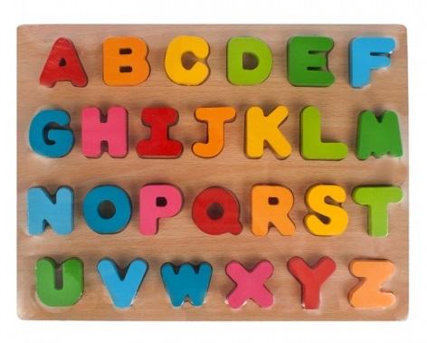 EURO-TRADE - Puzzle drevené písmenka