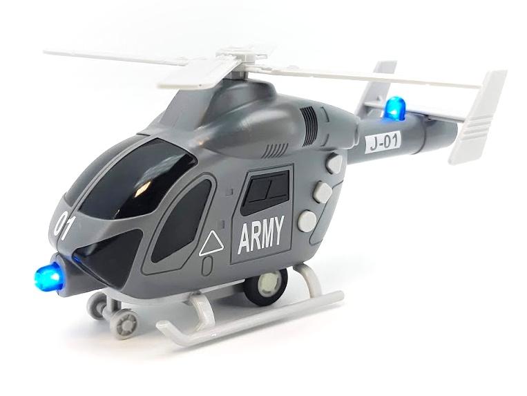 EURO-TRADE - Vrtuľník vojenský 20cm