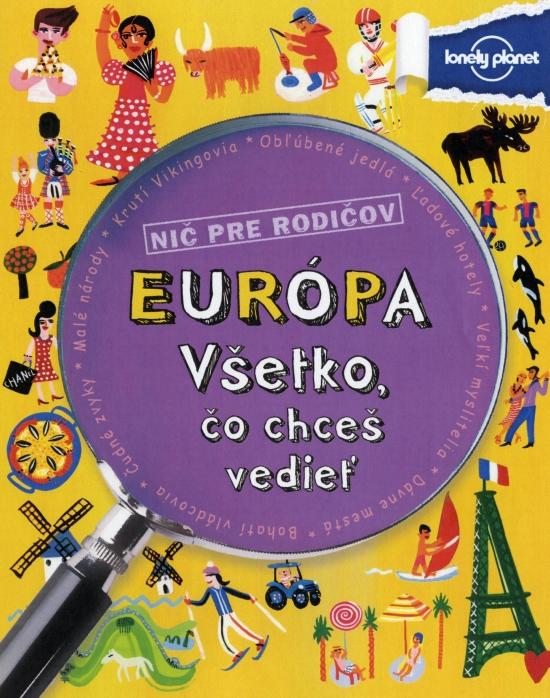 Európa - Všetko, čo chceš vedieť - Clive Gifford