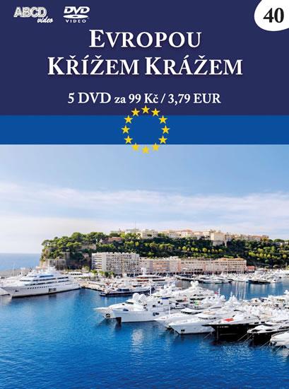 Evropou křížem krážem 2 - 5 DVD