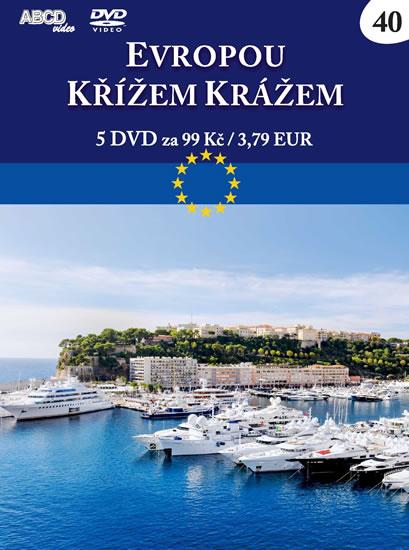 Evropou křížem krážem - 5 DVD