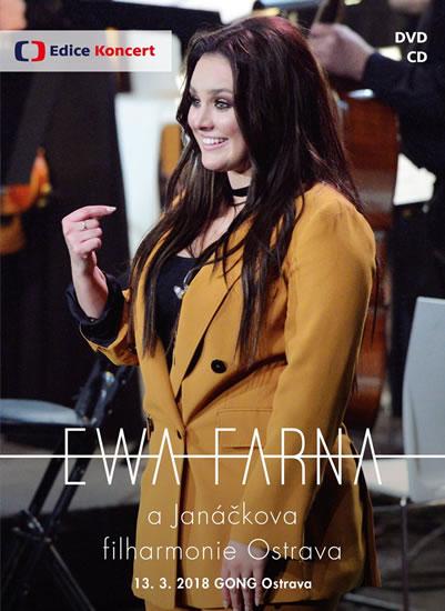 Ewa Farna a Janáčkova filharmonie Ostrava - CD + DVD