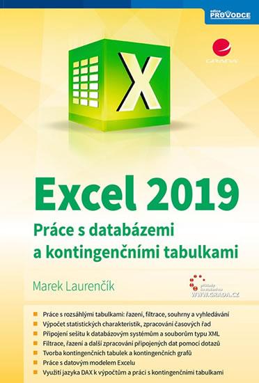 Excel 2019 - Práce s databázemi a kontin - Marek Laurenčík