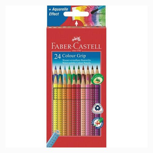 FABER CASTELL - Pastelky Grip 2001 set 24 farieb
