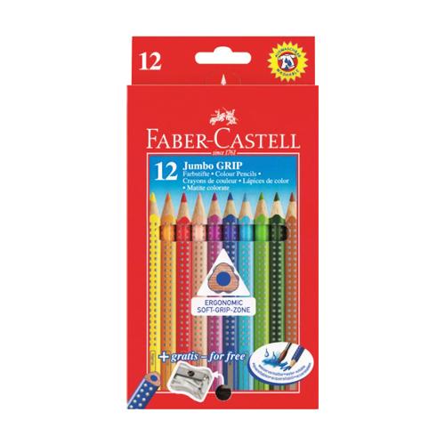 FABER CASTELL - Pastelky Jumbo Grip set