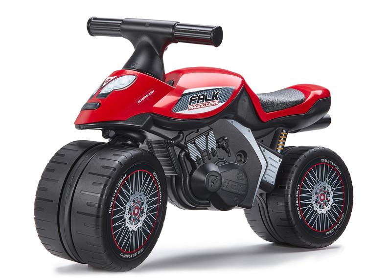 FALK - Baby Racing Team moto odrážadlo - červené