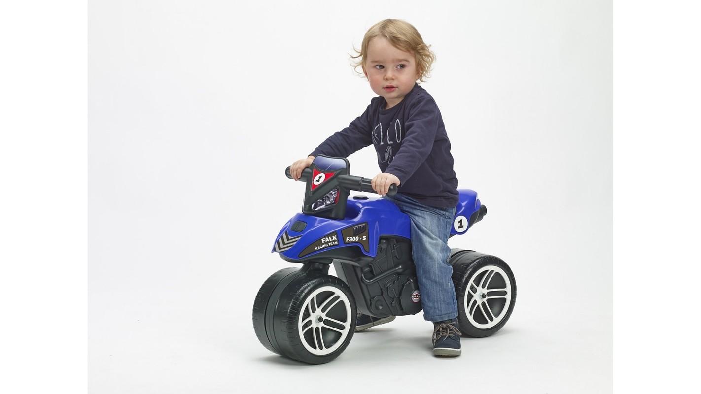 FALK - Odrážadlo 501 Moto Racing Team modré