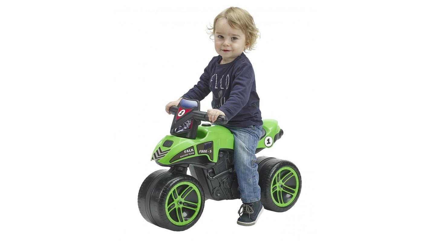 FALK - Odrážadlo 502 Moto Racing Team zelené