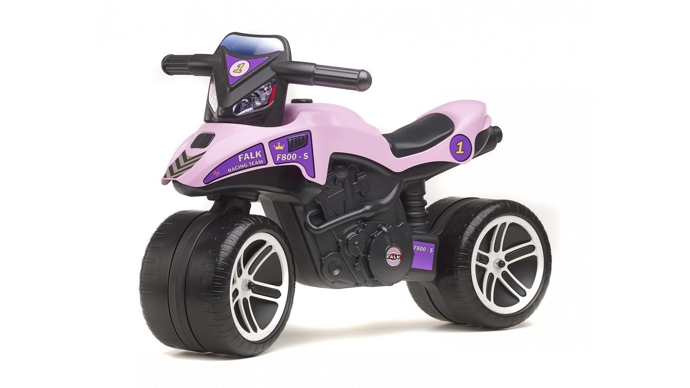 FALK - Odrážadlo 508 Moto Racing Team fialové