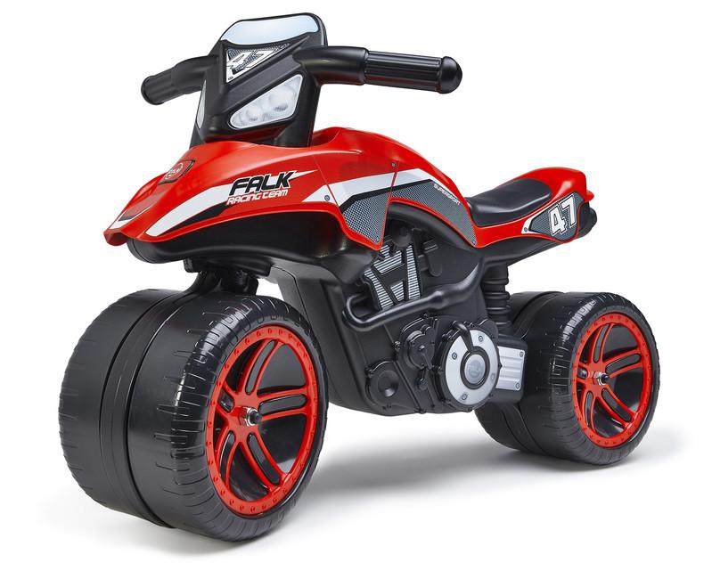 FALK - Racing Team ride-on Moto odrážadlo - červené