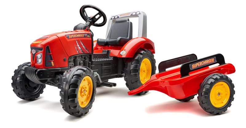 FALK - Šliapací traktor 2020AB Supercharger červený