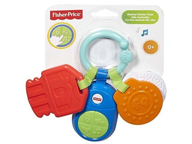 FISHER PRICE - Hudobné kľúčiky DFP52