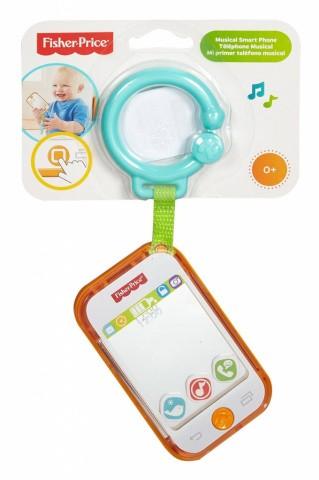 FISHER PRICE - Hudobný smartfón DFP50
