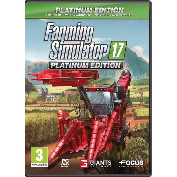 FOCUS HOME - PC Farming Simulator 17 Platinum Edition CZ