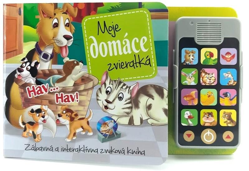 FONI BOOK - Interaktívna knižka Moje domáce zvieratká so zvukmi