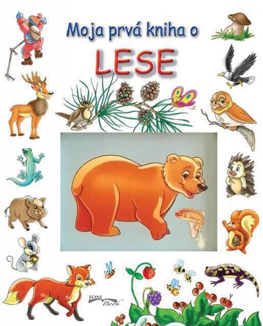 FONI BOOK - Moja prvá kniha o lese